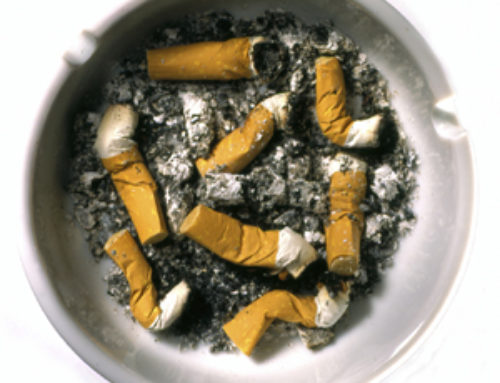 Stopping weight gain when you give up smoking